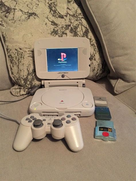 ps1 console sony psone playstation 1 console with lcd portable screen