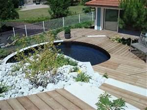 conception et realisation d39un bassin de jardin avec With amenager un jardin rectangulaire 1 paysagiste en ligne creation jardins et terrasses