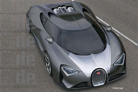 Successor To Bugatti Veyron Will Produce 1500 Horsepower