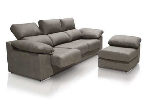 sofa 3 plazas chaise longue medidas sof 225 chaise longue de 3 plazas con asientos deslizantes y