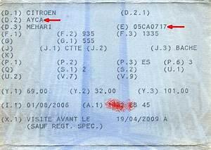 Carte Grise Barrée 2 Fois : mehari club de france afficher le sujet frappe froid sur chassis ~ Gottalentnigeria.com Avis de Voitures