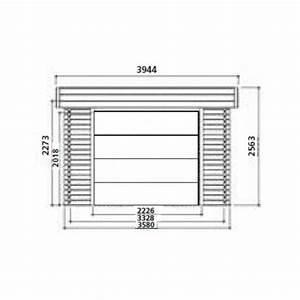 Garage En Bois Toit Plat : garage bois moderne toit plat 17m solid achat vente ~ Dailycaller-alerts.com Idées de Décoration