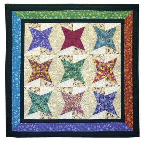 Rising Star Patchwork Quilt Block   FaveQuilts.com