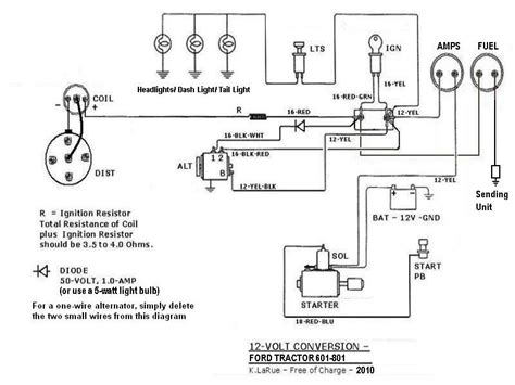 Tractor Wiring Diy Ford Tractors