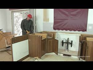 Remove kitchen cabinets yourself to save money on your remodel for How to remodel kitchen cabinets yourself