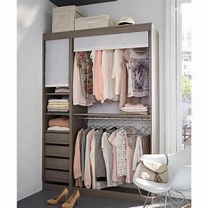 Solution Dressing Pas Cher : dressing ch ne cendr perkin dressing castorama pas cher ~ Premium-room.com Idées de Décoration