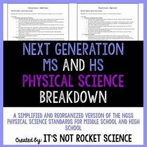 Next Generation Science Standards (NGSS) Breakdown - MS ...