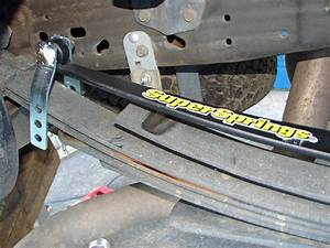 U0026quot Overload And Stabilizing Leaf Springs Are Supersprings