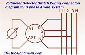 Voltmeter Selector Switch Wiring    Installation For 3
