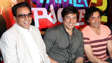 Sunny Deol Roots For A Biopic On Papa Dharam