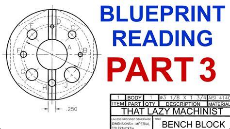 machine shop lesson  blueprint reading part  marc