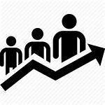 Icon Progress Growth Arrow Graph Statistics Icons