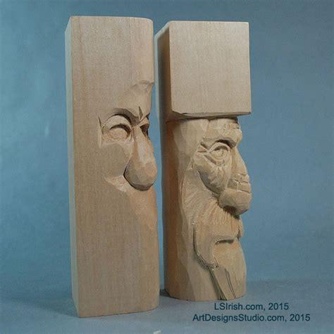 wood spirit carving lora irish  project introduction