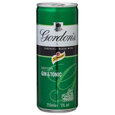 London Garden Fencing by Gordon S Gin Amp Tonic 250ml Alcohol Spirits