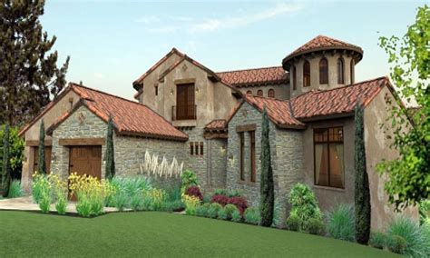 Tuscan Home Plans With Courtyards Tuscan Mediterranean