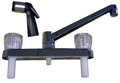 mobile home kitchen faucets kitchen faucet with sprayer for mobile home manufactured