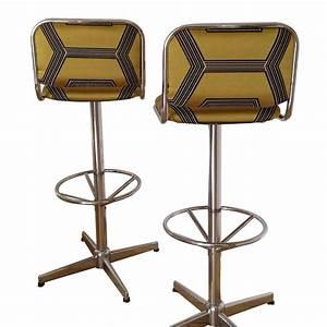 Tabouret Bar Vintage : tabourets de bar ann e 70 r tro boutique ~ Preciouscoupons.com Idées de Décoration
