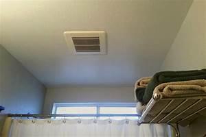 How to install a bathroom exhaust fan bathroom exhaust for How to install exhaust fan in bathroom