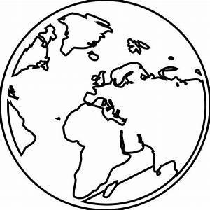 Black And White Earth - Cliparts.co