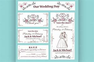 wedding invitation thank you card flyer templates on With thanks for wedding invitation images