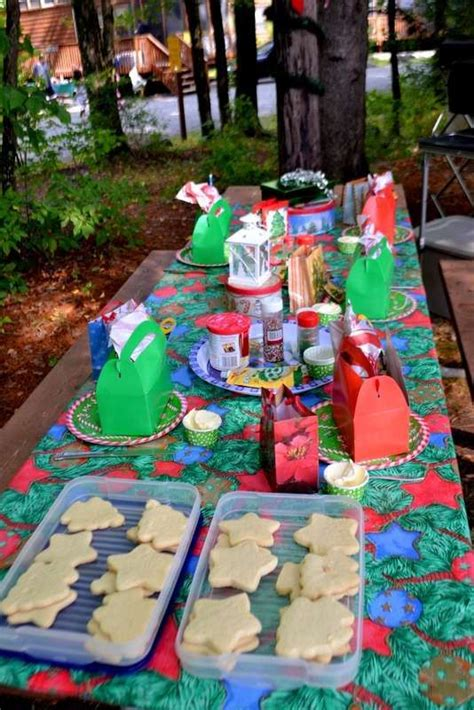 christmas  july party ideas images  pinterest