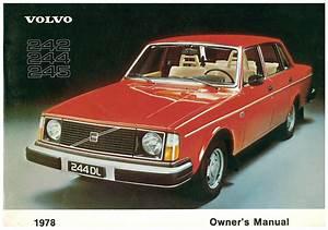 1978 Volvo 244 Gl 2 1 Manual