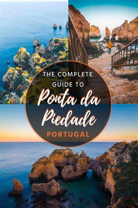 ponta da piedade epic rock formations  algarve portugal