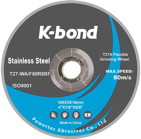 flexible grinding wheel  ss powertec abrasives