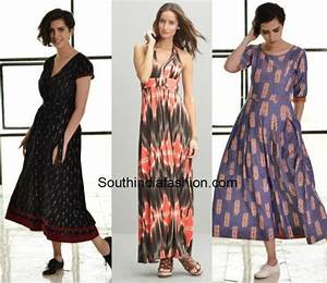 6 non desi ways to wear ikat south india fashion for Ikat fabric dress