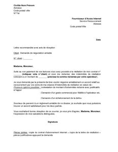 service recouvrement banque accord exemple gratuit de lettre n 233 gociation amiable indemnit 233 r 233 siliation service recouvrement suite 224