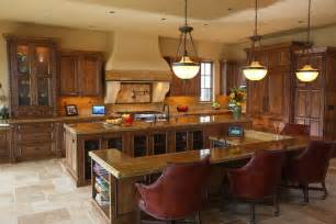 Tuscan Kitchen Island 27 Luxury Kitchens That Cost More Than 100 000
