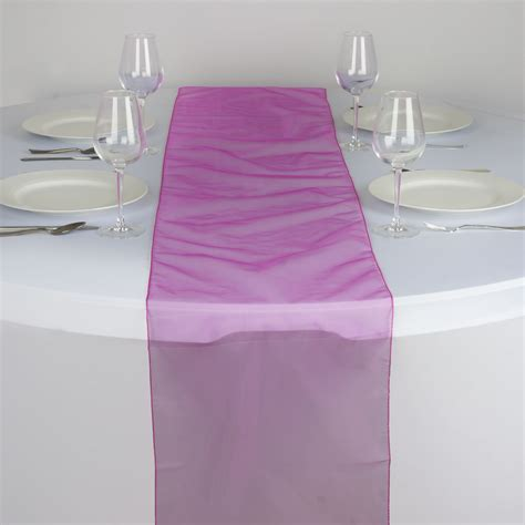wedding table cloth runners 5 organza 14x108 quot table runners wedding party kitchen