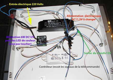 tuto changer l alimentation pour remplacer des halog 232 nes g4 12v par des led