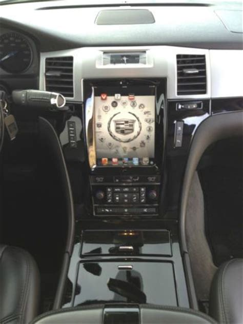 find   cadillac escalade custom ipad  dash