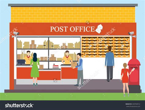 bureau postal post office clipart images clipartsgram com