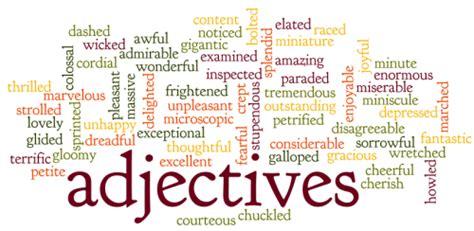 ingilizce sifatlar adjectives