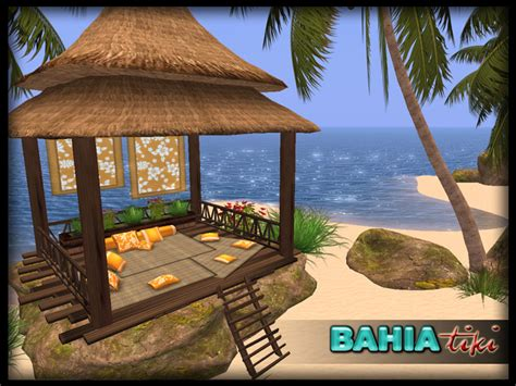 Tropical Tiki Huts by Second Marketplace Tropical Tiki Chillout Hut