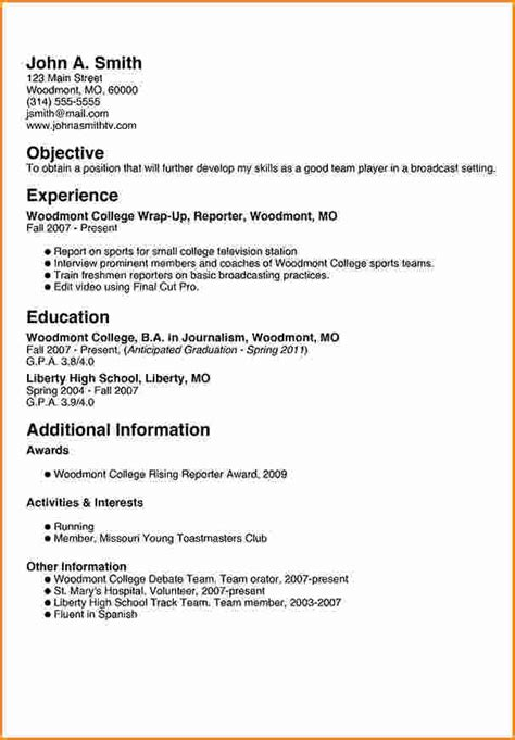 resume for freshman in college 8 freshman college student resume exles invoice template