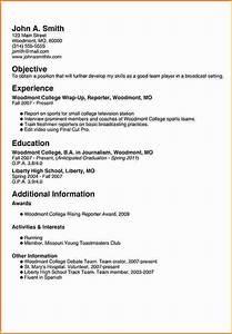 8 freshman college student resume examples