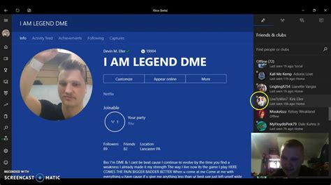 Xbox One Profile Picture Change Youtube