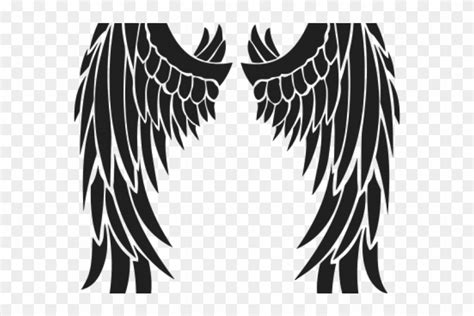 wings tattoos png transparent images stencil angel wings