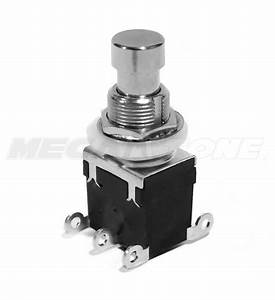 1pc Dpdt Latching Foot Switch On  On Guitar Effects Pedal Bypass  Usa Seller