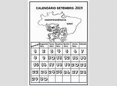Profª Ivani Ferreira CALENDÁRIO 2019 PARA IMPRIMIR E
