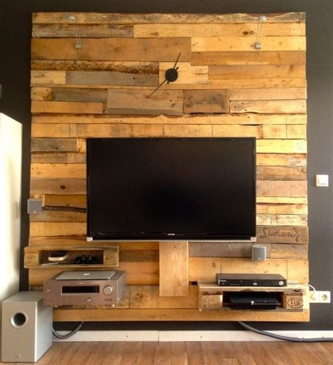 Tv Wand Ideen Holz by Tv Wand Rund Ums Haus