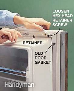 How to Replace A Refrigerator Door Gasket | The Family ...