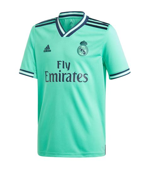 adidas Real Madrid Trikot UCL 2019/2020 Kids Grün | Fan ...