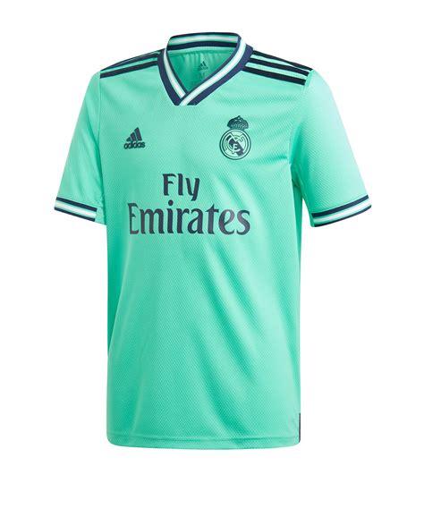 adidas Real Madrid Trikot UCL 2019/2020 Kids Grün | Fan ...