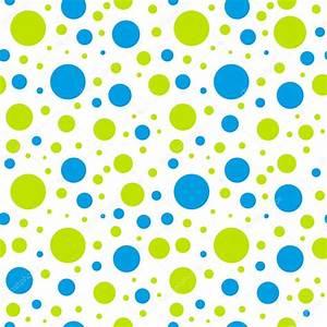kids seamless green blue circle pattern — Stock Vector ...