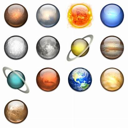 Solar System Icon Icons Transparent Energy Pdf