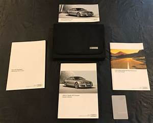 2011 Audi A5 Coupe Owners Manual W  Case Set Guide S5 Oem